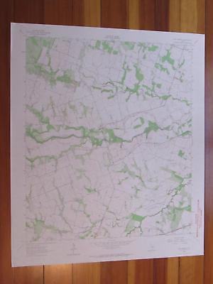San Gabriel Texas 1964 Original Vintage USGS Topo Map