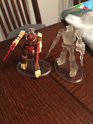 Transformers Super Collection Figures Chromedome Clear And Color SCF PVC Figures ()