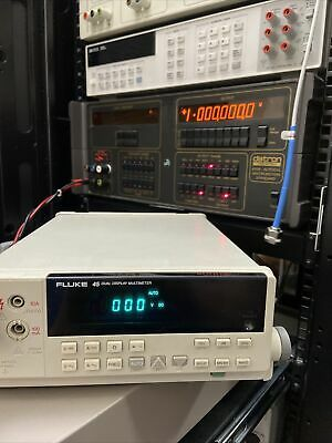 Fluke 45 Dual Display Multimeter Tested