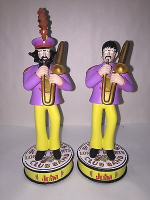 BEATLES YELLOW SUBMARINE 1 JOHN LENNON Statue Figure BOBBLE HEAD doll Band Sgt P