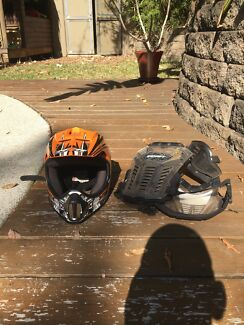 Wanted: Motorbike helmet and chest plate
