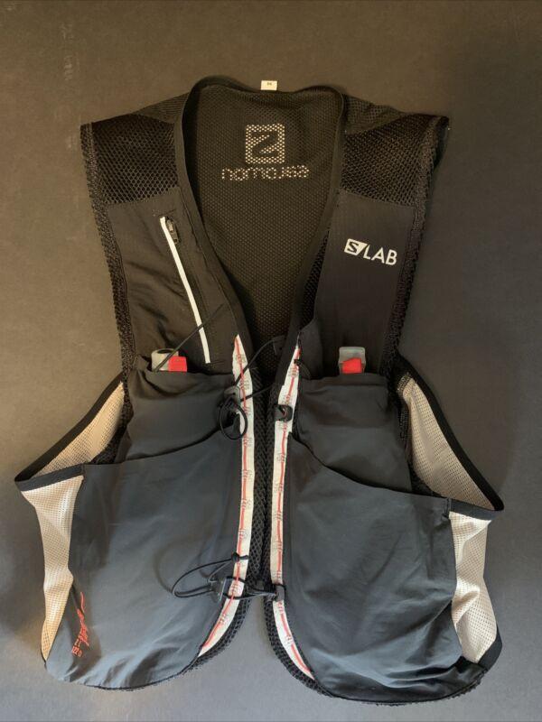 New w/o tags - Medium - Salomon S/Lab Sense 2 Set Hydration Running Vest