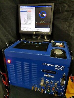 Orbitalum Orbimatic Orbimat 300 Ca Ac Dc Orbital Tube Tig Welder Itw Eh Wachs