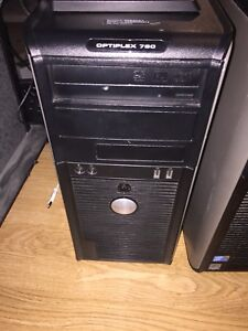 Dell optiplex 780, core 2 quad, 16gb ram, 750Gb