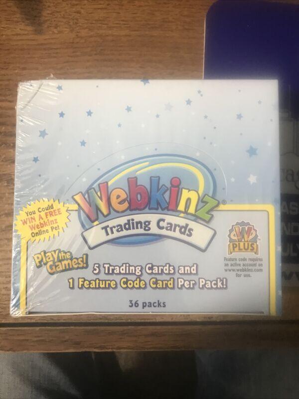 WEBKINZ BOX OF TRADING CARDS- SERIES 1- NEW SEALED BOX- 36 PACKS