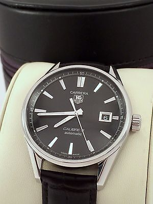 2013 Tag Heuer Carrera Calibre 5 Mens Watch Automatic in Excellent Cond. WAR211A