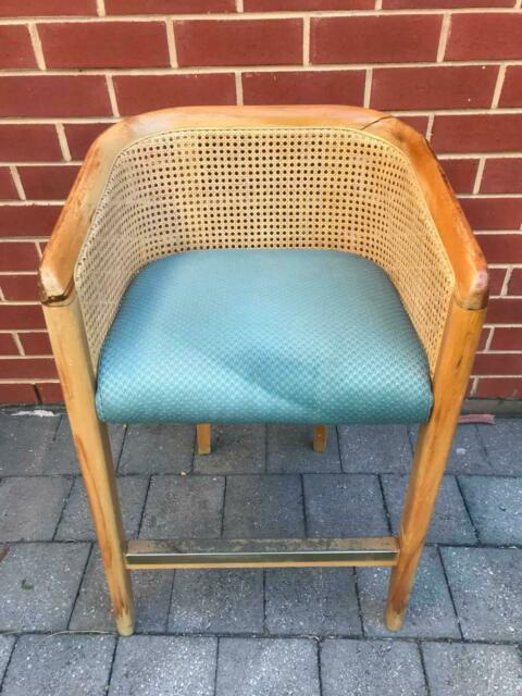 Solid oak rattan chair   Dining Chairs   Gumtree Australia ...