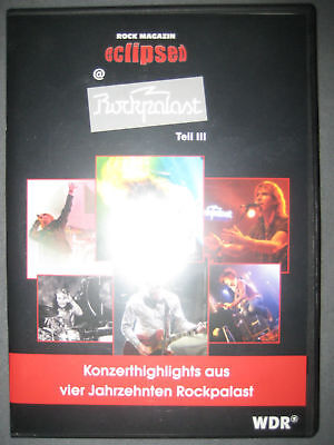 DVD Eclipsed Rockpalast Teil 3 Noel Gallagher High Flying Bird Oasis Chickenfoot