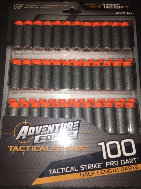 🔥🔫🔫🔥🔫🔫Adventure Force Half-Length 100 Dart Pack Nexus Tactical Strike Dart