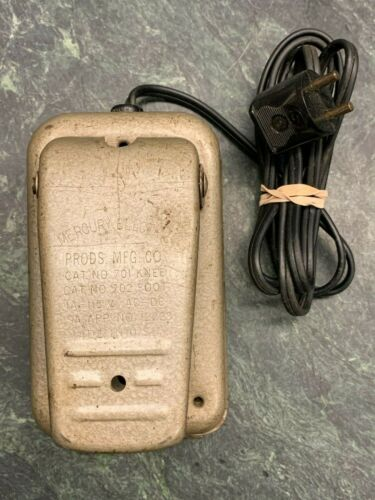 Mercury Electric Foot Pedal No 701 Knee 702 Foot Singer 2-Prong Cord -Ships Free