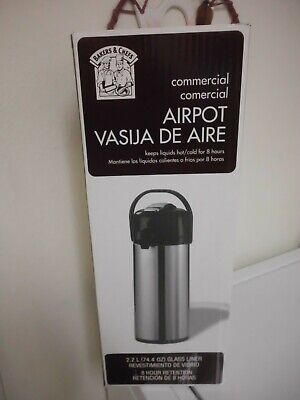 Commercial Coffee Airpot 2.2 Liter