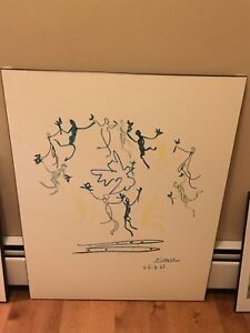 Large Picasso Picture