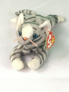73864cd047c Retired Ty Beanie Baby Prance - Cat Tabby 1997 Mint Condition