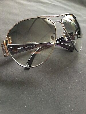 Versace Sunglasses 2039 B Made In Italy