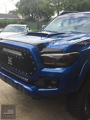 Hood Scoop for Toyota Tacoma by MrHoodScoop UNPAINTED -