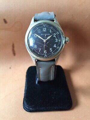 WWII Era Bulova Type A-11 Wristwatch ~ Running