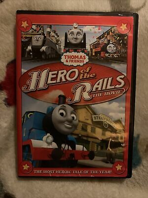 Thomas The Train Thomas And Friends Heroes of the Rails The Movie Dvd RARE