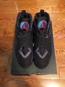 Nike Air Jordan 8 Aqua Size 10 Brand New
