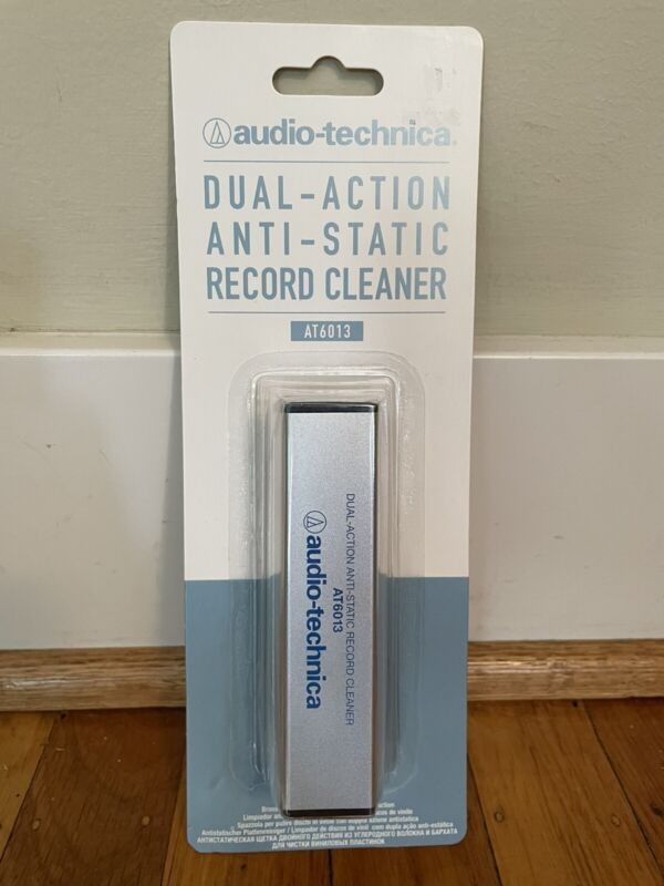 Audio Technica Dual-Action Anti-Static Record Cleaner AT6013. Brand New Sealed