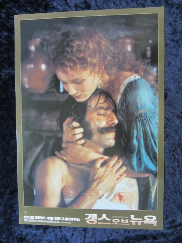 Gangs Of New York  lobby card # 4 Cameron Diaz, Daniel Day Lewis