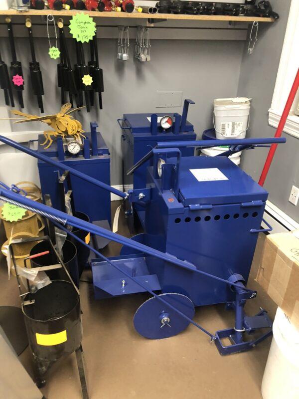 Ma10 Direct Fire Asphalt Tar Hot Melter Kettle Asphalt Paving Sealer Sealcoatung