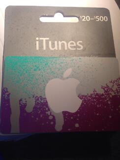 brand new itunes gift card only $420 worth $500 Strathfield South Strathfield Area Preview