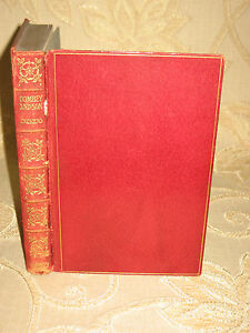 Antique-Collectable-Book-Of-Dombey-And-Son-By-Charles-Dickens-1900