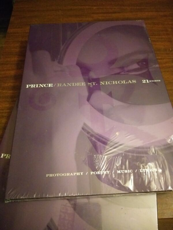 Prince Randee St. Nicholas 21 Nights Hardcover Book with CD Mint 2008 1st