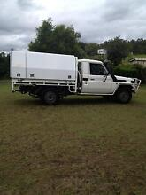 2005 Toyota LandCruiser Ute with Canopy Pine Mountain Ipswich City Preview
