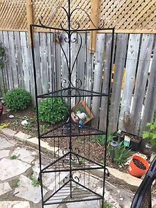 Metal plant stand or shelf