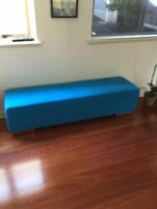 Ottoman, blue Woolloomooloo Inner Sydney Preview