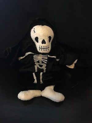 Ty Beanie Babies - Creepers - Halloween Skeleton - 2000