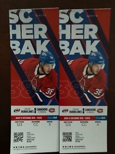 Hockey, RED, section:CC, seats: 3&4