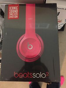 Brand new solo 2 beats hot pink
