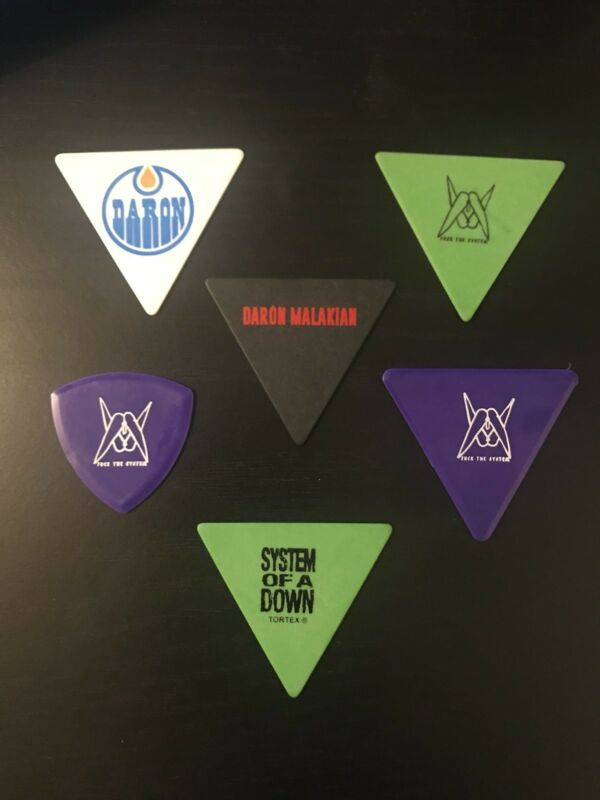 System Of A Down (Daron Malakian) Guitar Picks $29.99 Only Extended Till 8/23/20