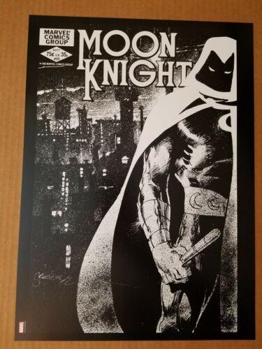 Moon Knight 23 Morpheus Marvel Comics Poster by Bill Sienkiewicz