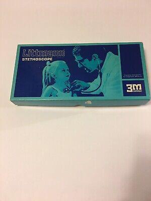 Vintage Littman Stethoscope 2101 Black