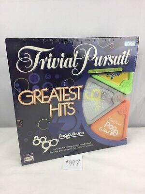 Trivial Pursuit Greatest Hits 80's 90's Pop Culture 2 Edition~Factory Sealed!