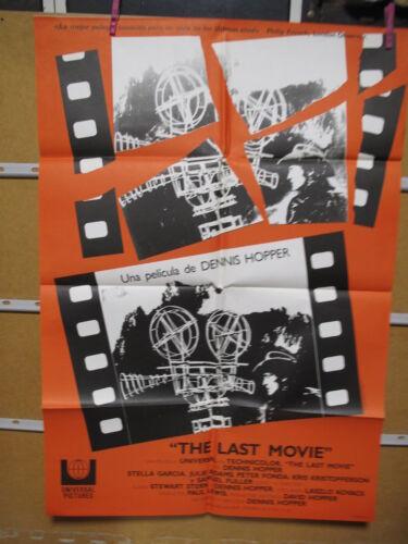 A7886 THE LAST MOVIE DENNIS HOPPER