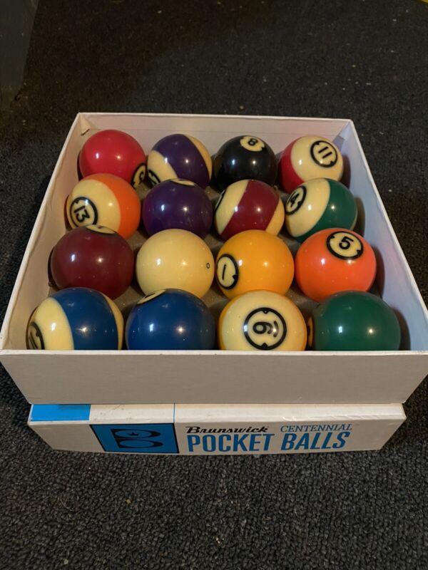 Brunswick Centennial Pocket Balls with Box