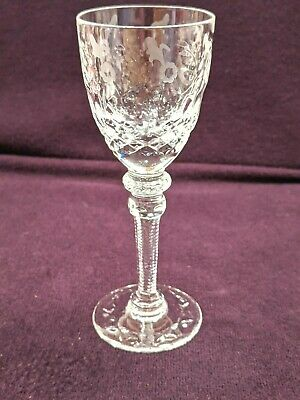 Rogaska Crystal GALLIA Cordial Glass 5''