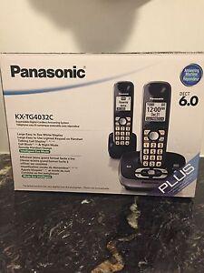 Panasonic Home Phone - 2 Phones - GREAT CONDITION