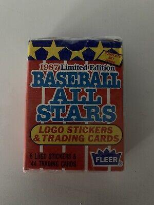 1987 FLEER LIMITED EDITION ALL STARS - 44 CARDS - COMPLETE SET SEALED -