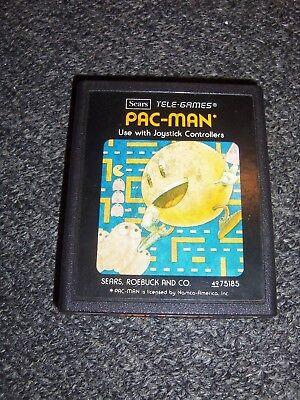 Pac-Man (Atari 2600, 1982) **SEARS PICTURE LABEL**
