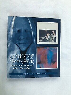 Nothin' But the Blues AND White Hot And Blue by Johnny Winter MINT Remastered