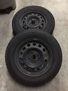 Snow tires and rims Stratford Kitchener Area image 4