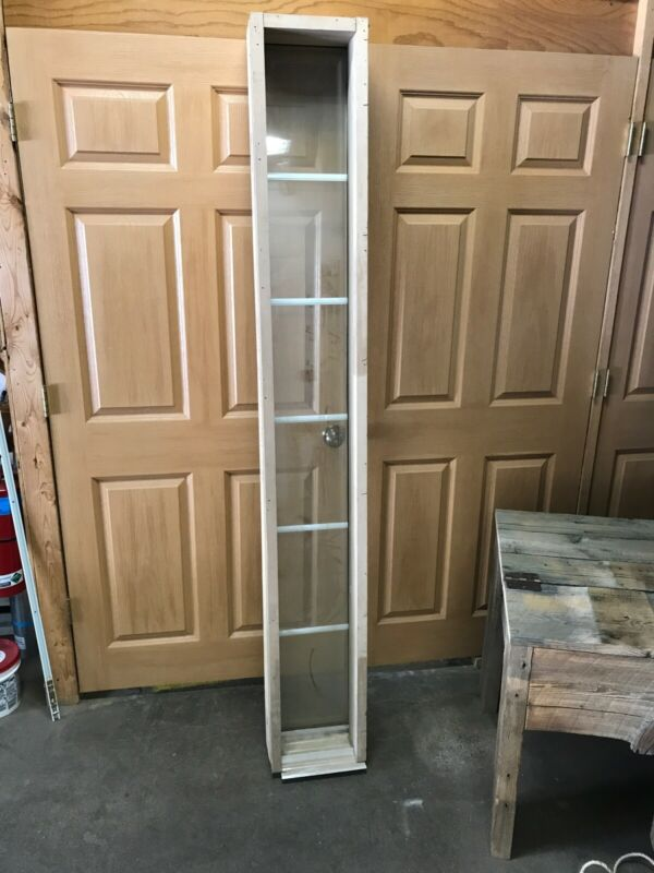 "Wood Door Jamb Sidelight 11"" Full 5 Light Decorative Glass Primed"