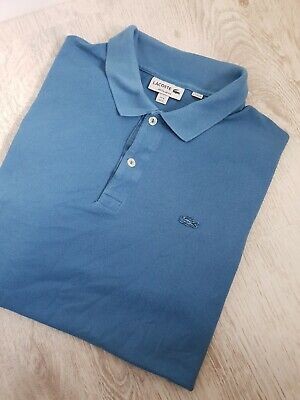 Lacoste fine mens Polo Top T-Shirts, very good condition size XL Worldwide for sale  Shipping to South Africa