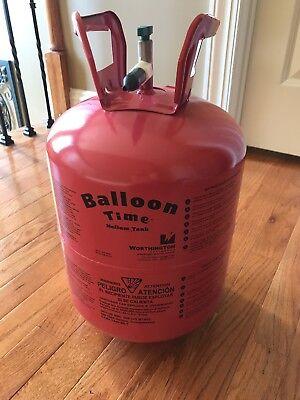 EMPTY WORTHINGTON CYLINDER CORP Large 14.9 cu. Ft. Disposable Helium Tank (Helium Tank Large)