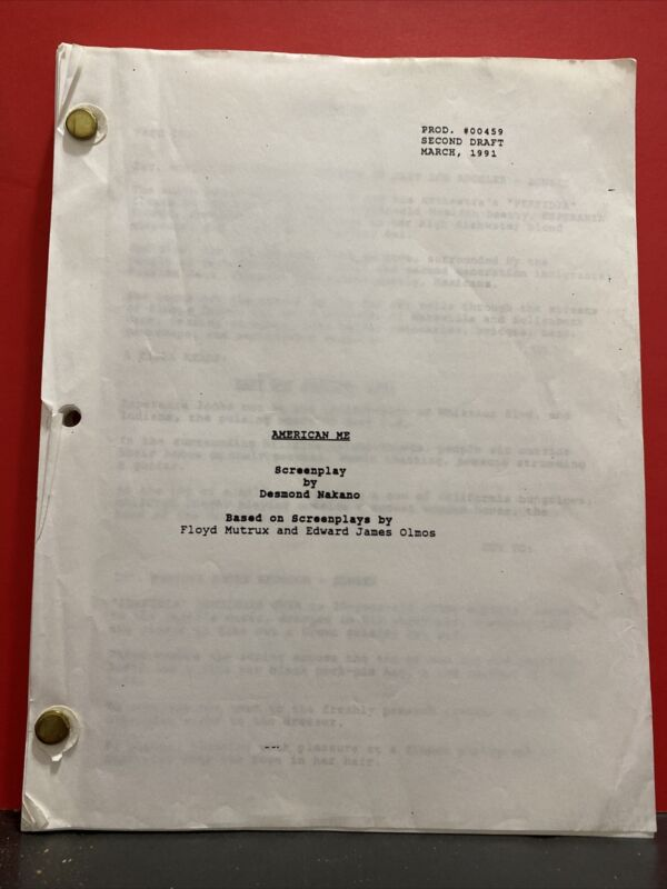 American me Desmond Nakano March 1991 second draft Screenplay, Jennifer Jason
